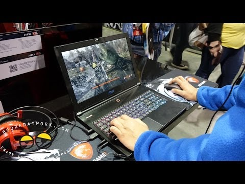 MSI GS60 Ghost Pro Hands-on