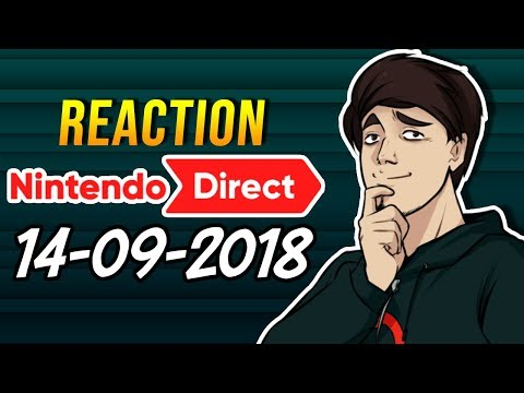 [REACTION] Nintendo Direct - 14/09/2018 (видео)