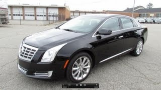 2013 Cadillac XTS Premium/Luxury Start Up, Exhaust, And In Depth Review