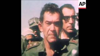 Gonen Israel  city pictures gallery : SYND 19/10/73 ISRAELI GENERALS VISIT SINAI BATTLEFRONT