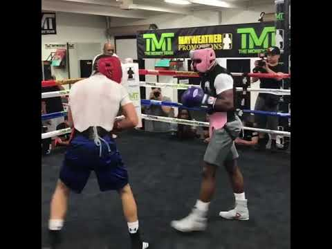 Floyd Mayweather sparring NEW 2018 (видео)