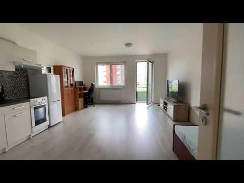Video Pronájem bytu 1+kk s balkonem, Praha 9 - Letňany