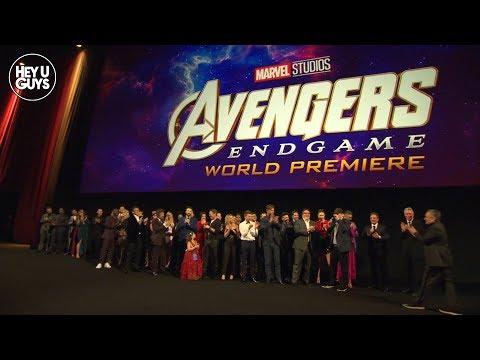 Avengers: Endgame Premiere EPIC Cast Photo