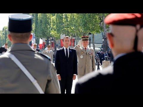 Frankreich begeht die Festlichkeiten zum 8. Mai