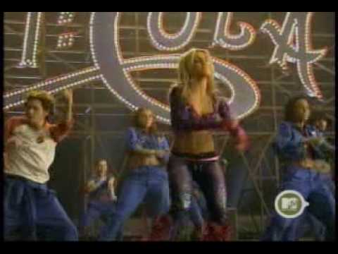 Britney Spears - Behind The Scenes TRL Pepsi Commercial 3-26-01.