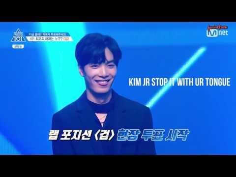 [ENG] Produce 101 Ep 6 NU'EST cuts 프로듀스 101 시즌2 6화 뉴이스트 JR 편집 (видео)