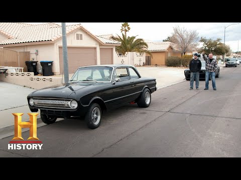 Counting Cars: Ryan and Mike Spot a 1961 Ford Falcon (Season 7, Episode 10) | History