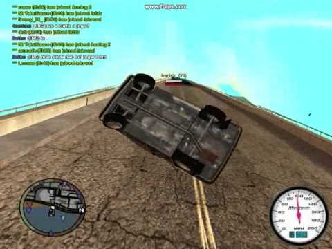 GTA San Andreas Falls, Tricks and Epic Fails by 4centas