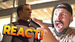 REACT TRAILER VINGADORES: ULTIMATO + TEORIAS