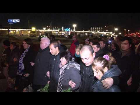Straatmuzikant Zdravko Vazov gisteren begraven in zijn vaderland Bulgarije