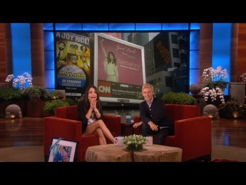 Square - Ellen is so excited for the launch of Bethenny's new show, she took out a Times Square billboard! Watch how Bethenny reacted when Ellen showed it to her for ...
