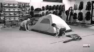 Двухслойная палатка с большим тамбуром High Peak  Nevada 3