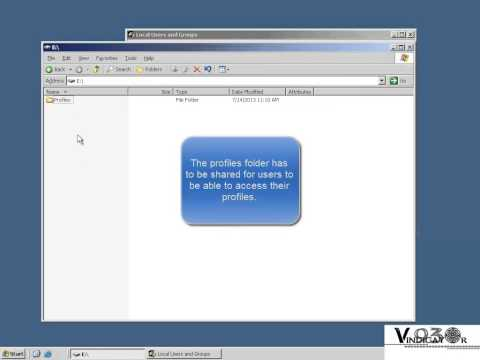 User Profiles (Windows Server 2003)