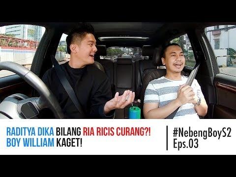 #NebengBoy S2 Eps 3 - Raditya Dika Bilang Ria Ricis Curang?! Boy William Kaget!