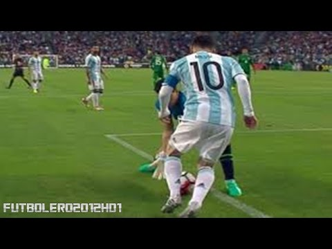 The best narrations of the nutmeg by Leo Messi ◉ Argentina ◉ Copa America ◉ 2016
