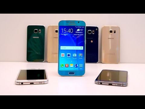 Samsung Galaxy S6 vs HTC One M9: Hands-On at MWC 2015
