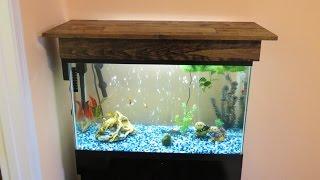Video DIY Aquarium Canopy MP3, 3GP, MP4, WEBM, AVI, FLV Oktober 2018