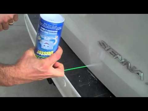 un trucco per riparare le piccole ammaccature della vostra auto!