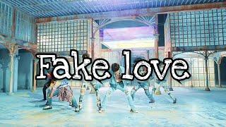 BTS FAKE LOVE Spanish version  Cover en Español Lyrics