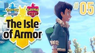 RIVAL'S RETURN!! | Pokemon Isle of Armor DLC (Episode 5) by Tyranitar Tube