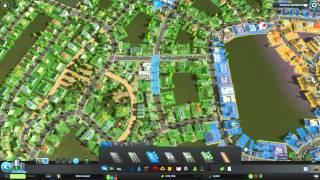 Cities: Skylines - Shorewood Timelapse (Part 1)
