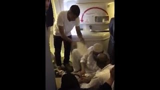 Medical emergencies on board Saudia #SV706 as the AC system didn't work during more than 3 hours