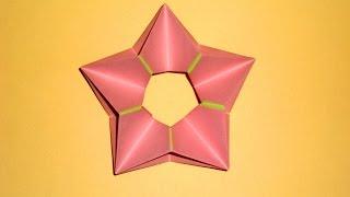 Звезда из бумаги Поделки оригами