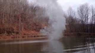 This Happens When You Throw Sodium On Water...