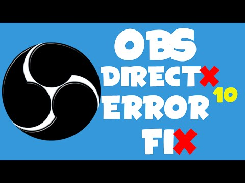 Directx 10 для obs