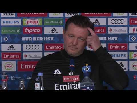 HSV-Trainer Christian Titz über den Heidenheim-Hattri ...