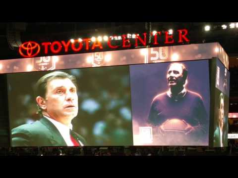 Houston Rockets Tribute to Rudy Tomjanovich