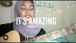 Rahmania astrini - It's Amazing// #cover16