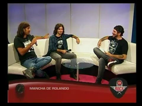 Mancha de Rolando video Entrevista CM Rock - Estudio CM 2016