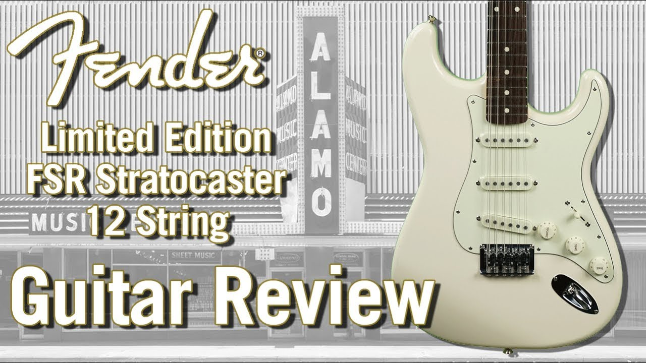 Limited Fender Stratocaster XXII 12 String Electric Guitar – Guitar Review