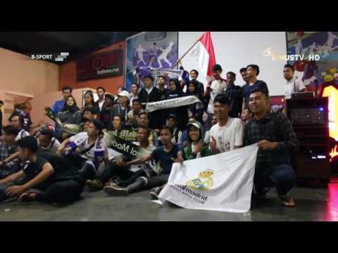 B SPORT – Supporter Real Madrid Jakarta Sambut Derby Madrid dengan Nonton Bareng