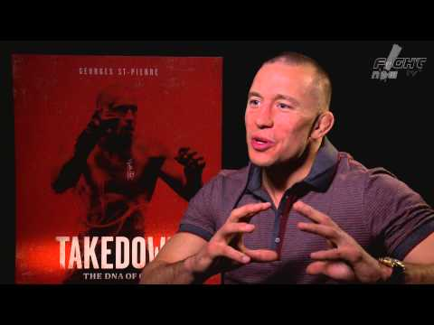 Georges St-Pierre discusses Takedown: The DNA of GSP and Captain America: The Winter Soldier