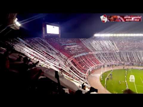GOL DE DRIUSSI + QUIERO DAR LA VUELTA - River Plate vs Ind. Santa Fé / Recopa 2016 - Los Borrachos del Tablón - River Plate - Argentina - América del Sur