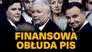 Finansowa obłuda PiS.