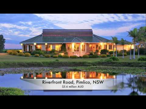 real eatate video - Riverfront Luxury Mansion: Pimlico, Ballina, NSW