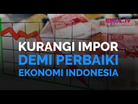 Kurangi Impor Demi Perbaiki Ekonomi Indonesia