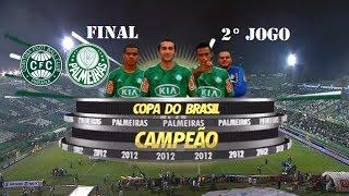 Palmeiras Campeão da Copa KIA do Brasil 2012 Final/Volta. O Video Contém os 4 Minutos Finais do Jogo e a Comemoração.