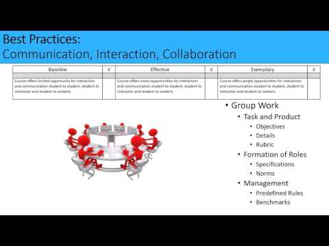 Peer Review Process Module 2C: Communication, Interaction, and Collaboration