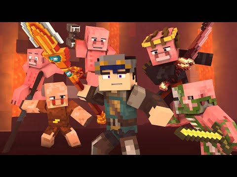 """BLEED"" - A Minecraft Animated Music Video ♪"