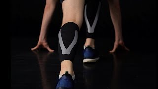 video thumbnail Kinesiology Bio-silicone Taping Calf Sleeves C1 youtube