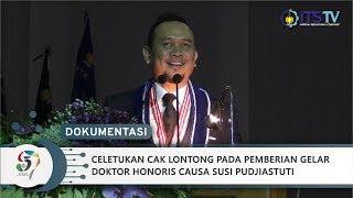 Video Celetukan Cak Lontong - Pemberian Gelar Dr (HC) Susi Pudjiastuti oleh ITS (Part 6) MP3, 3GP, MP4, WEBM, AVI, FLV Desember 2018
