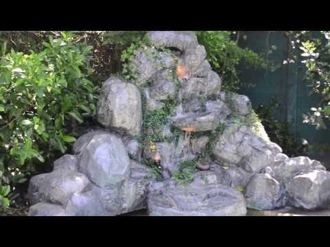 Piletas de piedra videos videos relacionados con for Cascadas artificiales de piedra