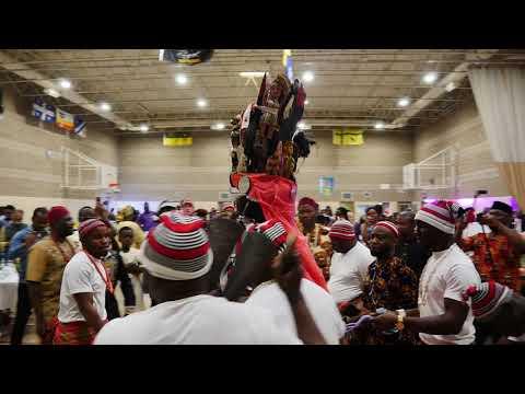 Igbo masquerade at Igbo Day 2019 in Regina