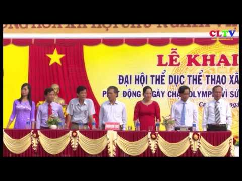 Xã Cam Thủy và Cam Hiếu tổ chức Đại hội TDTT