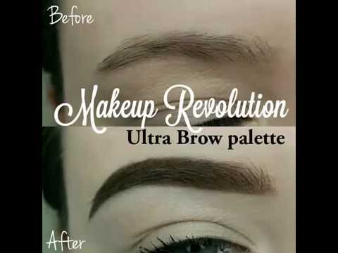 Makeup Revolution Makeup Revolution Ultra Brow Medium to Dark