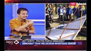 Video Soal Perusakan Atribut Demokrat, Roy Suryo Sebut Ada Upaya Sistematis- iNews Pagi 17/12 MP3, 3GP, MP4, WEBM, AVI, FLV Desember 2018